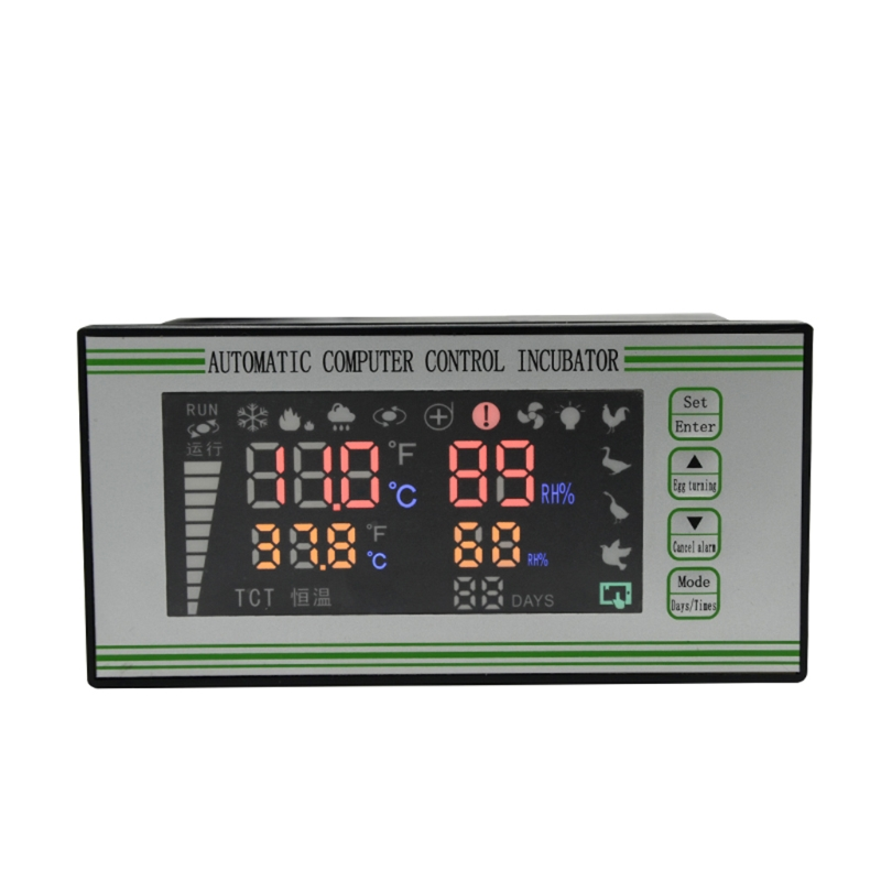Incubator Controller Intelligent Poultry Chicken Duck Thermostat Multifunction Temperature Control Products for Farm Animal