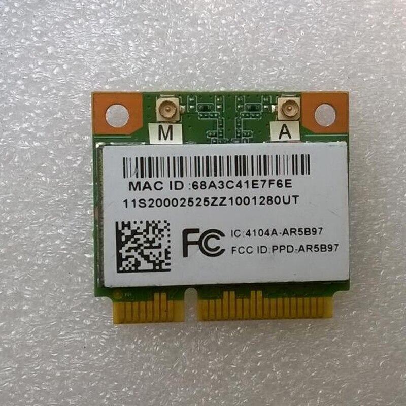 AR9287 AR5B97 Adapter Card For Lenovo Z370 Z470 Z570 Y470 Y570 Series ,FRU 20002525