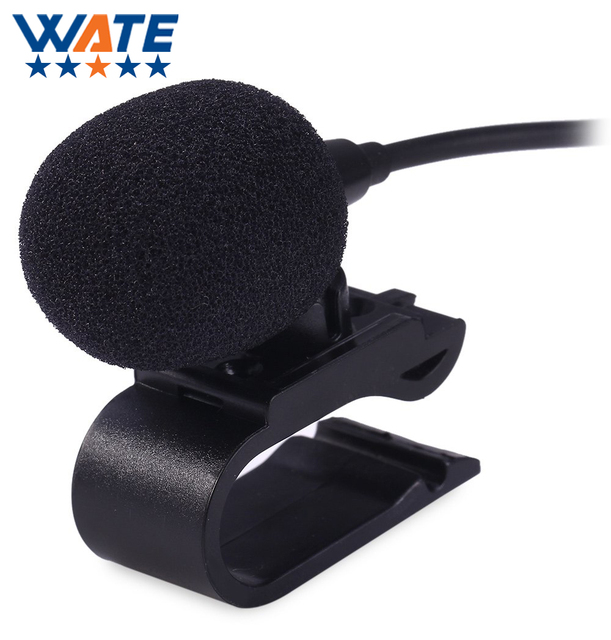 Professionals 3.5mm Stereo Jack Plug Mono Car External Microphone Mini Wired Mic DVD Radio Stereo Player HeadUnit Cable 3m