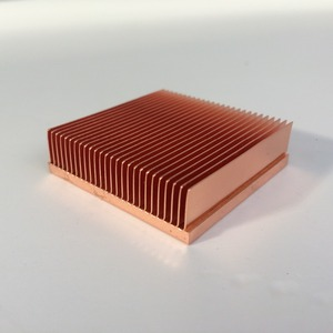 Image 1 - 1 قطعة النحاس المبرد 40*40*11 مللي متر ل رقاقة VGA RAM LED IC المبرد مسند تبريد للاب توب مدمج به مكبر صوت