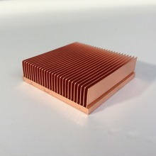 1pc銅ヒートシンク 40*40*11 ミリメートルチップvga ram led icラジエータークーラー冷却