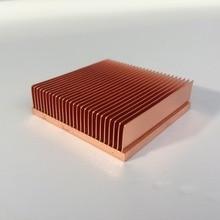 1pc rame del dissipatore di calore 40*40*11mm per il Chip VGA RAM LED IC radiatore del DISPOSITIVO di RAFFREDDAMENTO di raffreddamento