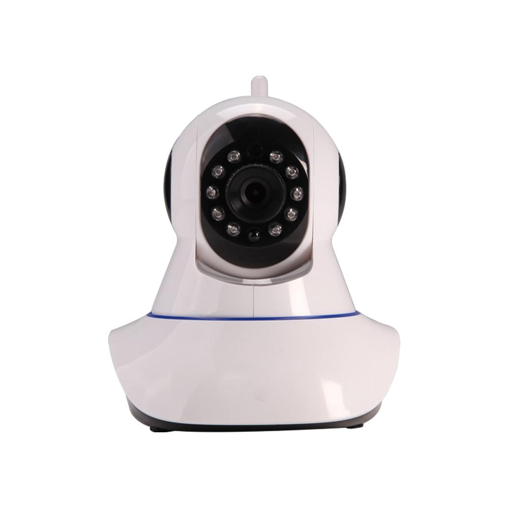 Wireless Wifi IP Surveillance Camera HD 720P + Door Sensor + Smoke Detector Security IR-Cut Filter Megapixel Lens GSM Alarm 1 pcs full range multi function detectable rf lens detector wireless camera gps spy bug rf signal gsm device finder