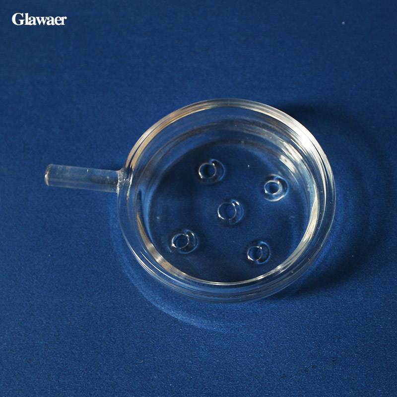 Shisha 2pcs/lot borosilicate glass hookah charcoal tray salver and glass bowl plate chic ...