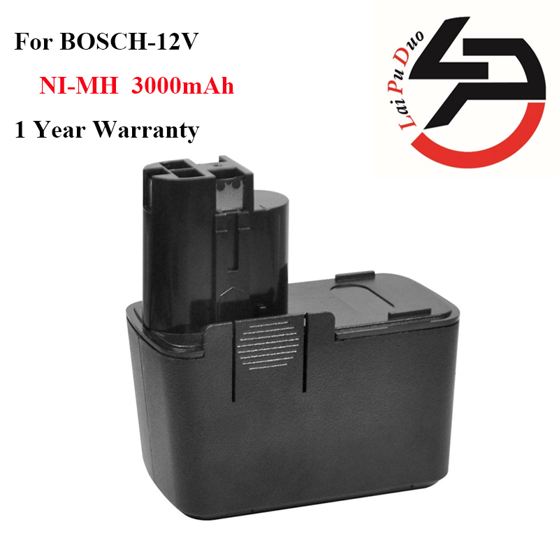HOT!!! Replacement Power Tool Battery 3.0Ah 12V Ni-MH for Bosch:2607335055,BH1214H,3500,B2310,2607335081,3310k