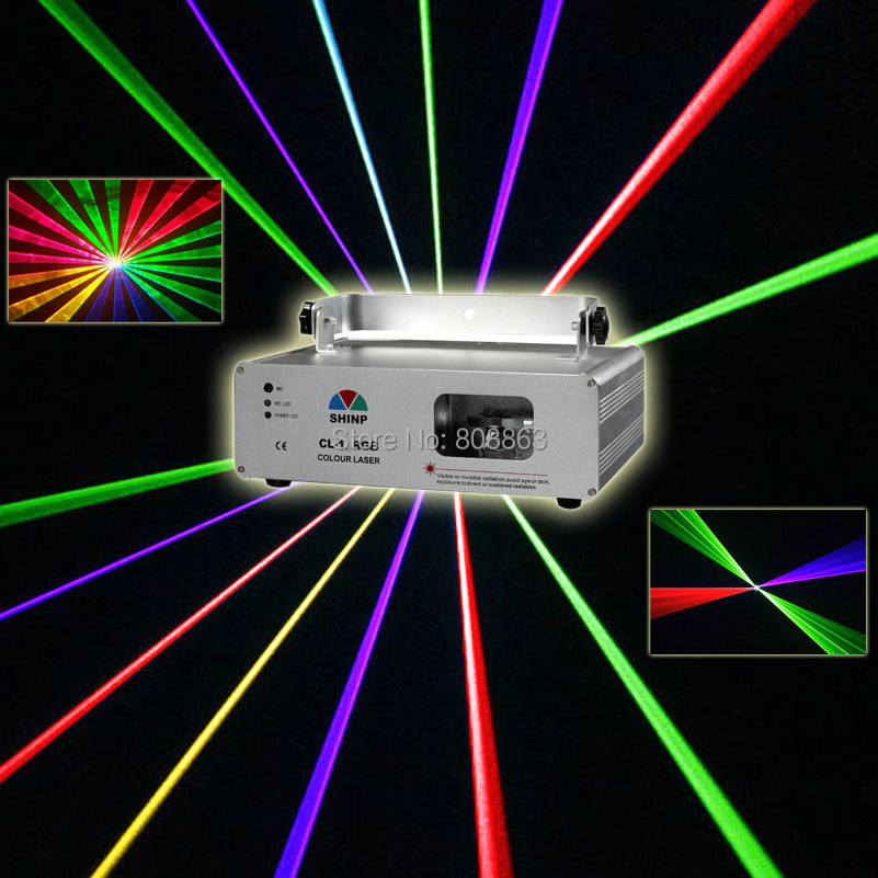 New 560mw/1W RGB Laser Lines Scan Beam Full Color DMX512 DJ Dance Bar Xmas Party Club Disco Lighting Effect Stage Light Show X13