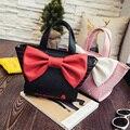 2017 Famoso Bow Tote Bolsa Para Mulheres Bolsas de Grife de Alta Qualidade Luxo Floral Crossbody sacos de Ombro Bolsa Feminina 692