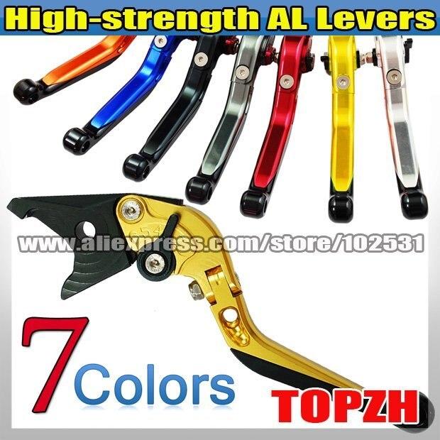 New High-strength AL Foldable Extend Levers Clutch & Brake for SUZUKI GSXR600 97-03 Z063