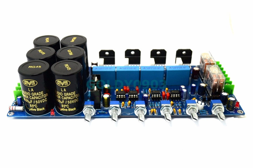 Q-BAIHE LM3886 2.1 Subwoofer Fever Level Amplifier Board Hifi Amplifier Board With Protection Circuit Fever Level DIY все цены