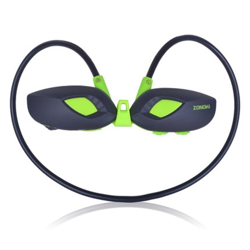 Zonoki M5 Bluetooth Headphones 4G Memory Card Fitness Running Earpods Wireless Sports Earphone MP3 MP4 MP5 Music Player Headset