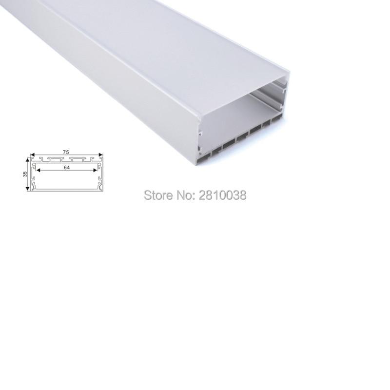 conjuntos de 10x1 m lot al6063 t6 led perfil de extrusao de aluminio e novo estilo