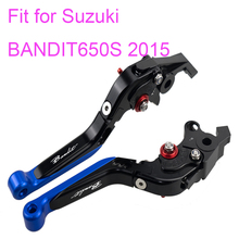 цена KODASKIN Left and Right  Folding Extendable Brake Clutch Levers for Suzuki Bandit 650S 2015