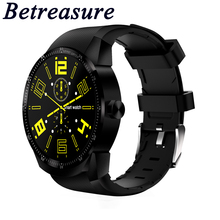 Betreasure K98H Smart Watch Android Bluetooth Heart Rate Monitor Smartwatch Sport Waterproof SIM 3G GPS Wifi Fitness Watches