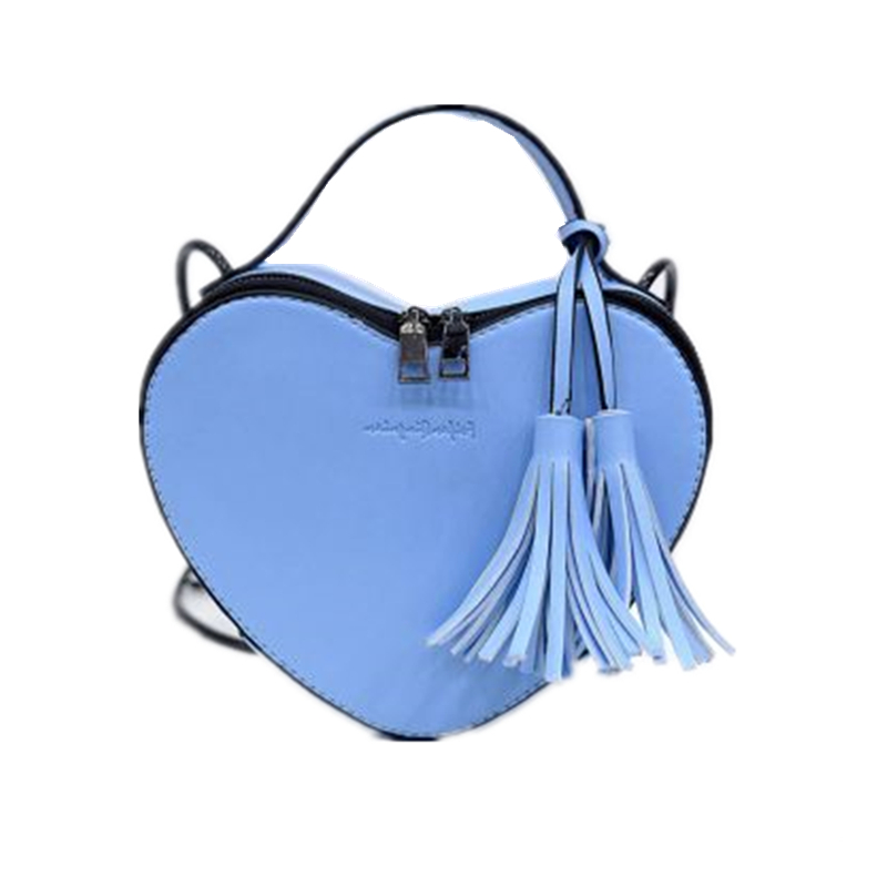 Fashion Mini Totes Tassel Design Heart Shaped Luxury Handbags Women Bags PU Leather Crossbody Bag L709 насос karcher bp 3 home