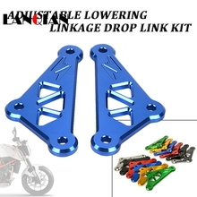 2018 new arrive motorcycle Accessories Frame lowering kit For Kawasaki Z1000 2014 2015 2016 2017