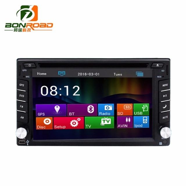 2Din Автомобильный DVD Video Player, GPS Навигация + 8 ГБ TFT Карта + GPS Карта Bluetooth + Аудио сенсорный экран Радио Аудио-и Видеоплеер