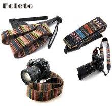 Винтажный плечевой ремешок для камеры шейный ремешок Противоскользящий ремень Мягкая прочная полоса для canon nikon sony pentax видеокамеры камеры