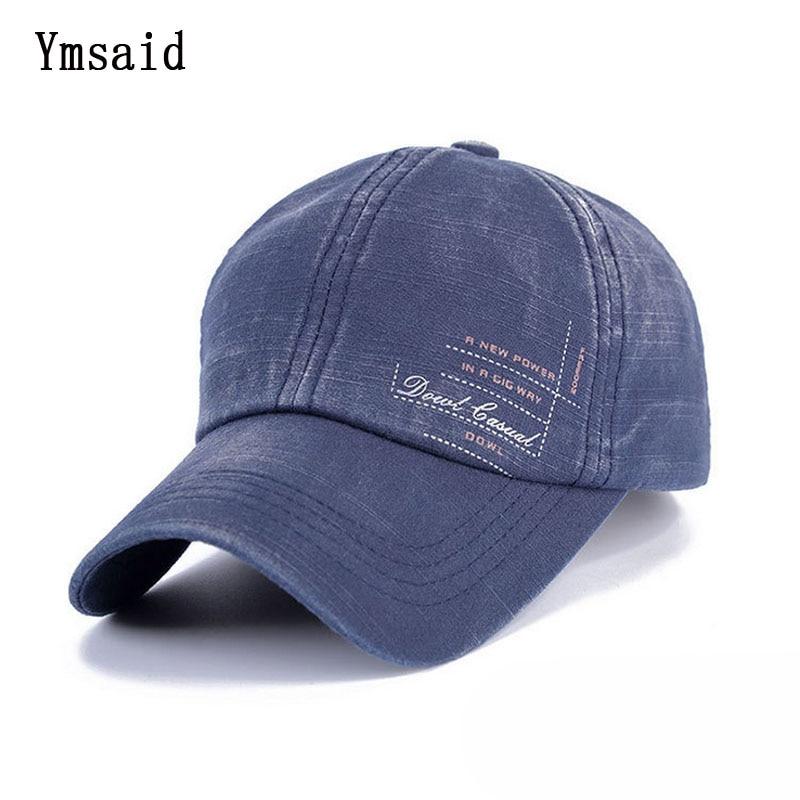 Classic Fashion letter Label Cotton Men Baseball Cap Summer Snapback Caps Unisex Vintage Sun Hat For Man Fashion Women Hats