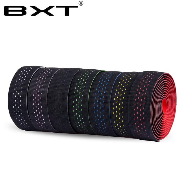 Road Bicycle Handlebar Tape Belt Cycling Handle Bar Grip Wrap Anti-slip Anti-sweat Strap 2 Bar Bike Accessories 2