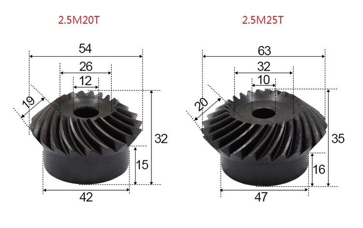2.5M20T 2.5M25T