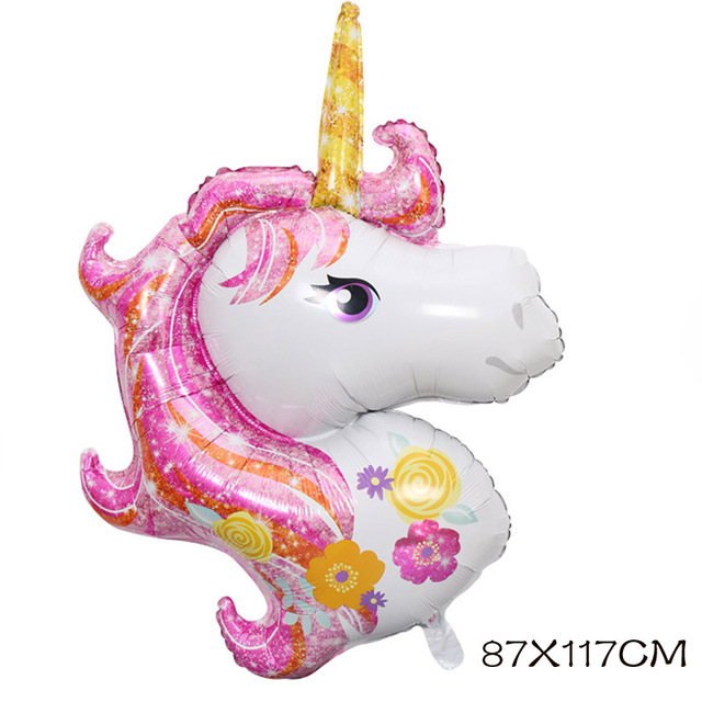 Unicorn Balloons For Kids Parties