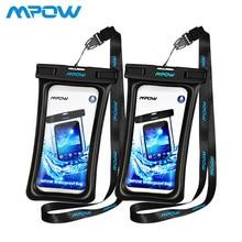 Mpow IPX8 Waterproof Bag Case Universal 6.5 inch Mobile Phone Bag Swim Case Take