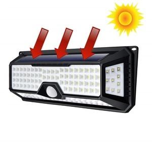 Image 4 - 180/136 LED Garden Solar LED Lights 1500LM Outdoor Solar Lamp Motion Sensor 320 Degree Waterproof IP65 Solar Security Light