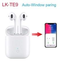 NEW Wireless Earphones LK-TE9 TWS Bluetooth True Stereo Earbuds Airdots Android/IOS  Binaural Calls Smart Headset