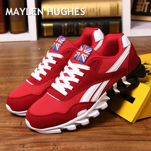 Image 1 - New Spring Autumn casual shoes men Big size37 49 sneaker trendy comfortable mesh fashion lace up Adult men shoes zapatos hombre