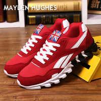 Nuevos zapatos casuales de primavera y otoño para hombre, size37-49 grandes de zapatillas de deporte, de moda de malla cómoda, con cordones, zapatos de hombre para adultos hombre
