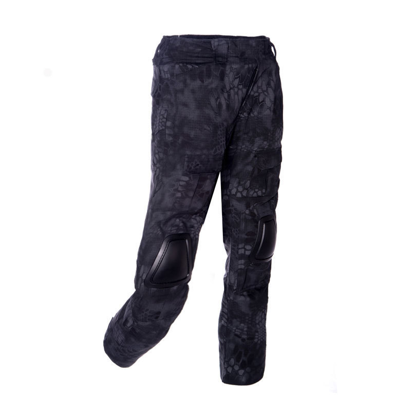 ФОТО 2017 Tactical Outdoor ATAC FG Camouflage Tactic Military Pants Airsoft Painball US Men Army Cargo Trouser Combat ACU CP Clothing