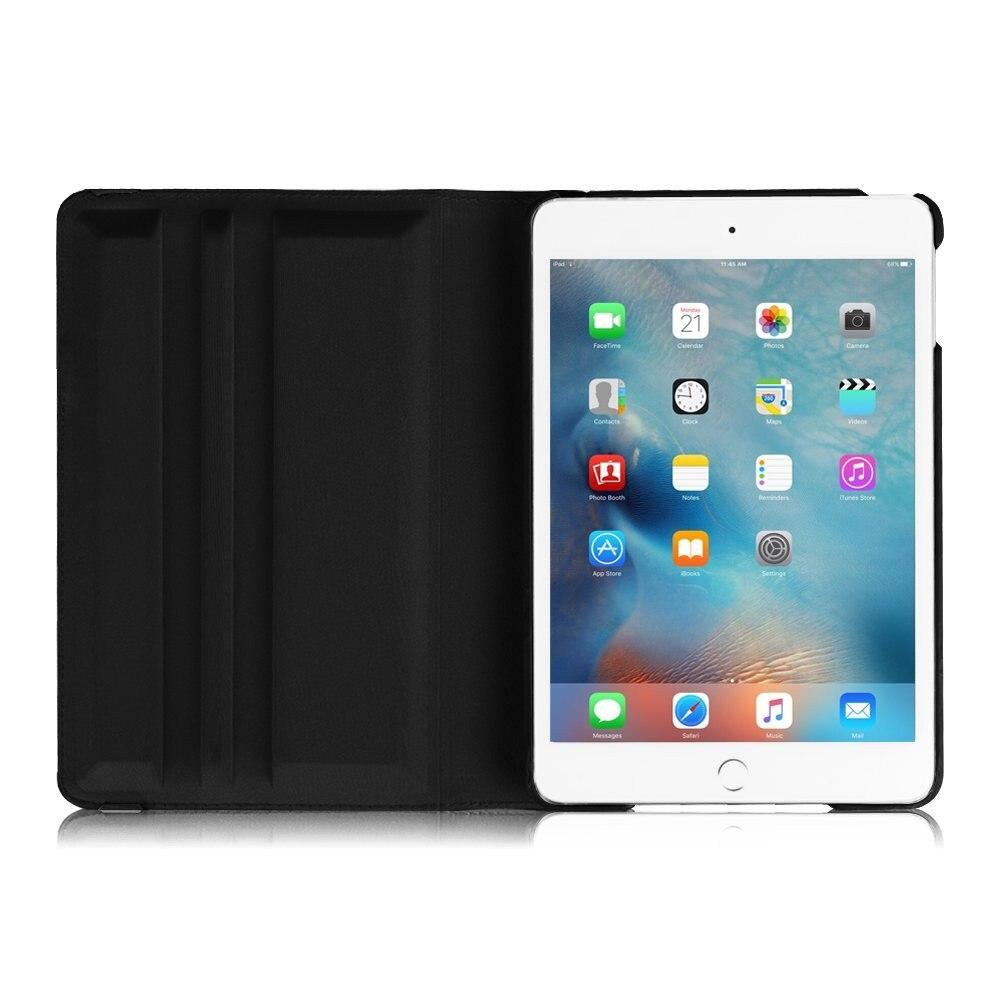 CucKooDo Za iPad mini 4, PU Koža 360 Rotirajući stalak Smart Case - Dodaci za tablet - Foto 2