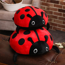 New Arrival Simulation Ladybug Plush Toys Stuffed Animal Doll Toy Plush Pillow Cushion Children Birthday Gifts new arrival simulation ladybug plush toys stuffed animal doll toy plush pillow cushion children birthday gifts