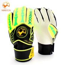 Футбольные вратарские перчатки детские латексные футбольные вратарские перчатки профессиональные студенческие спортивные защитные перчатки Детские тренировочные