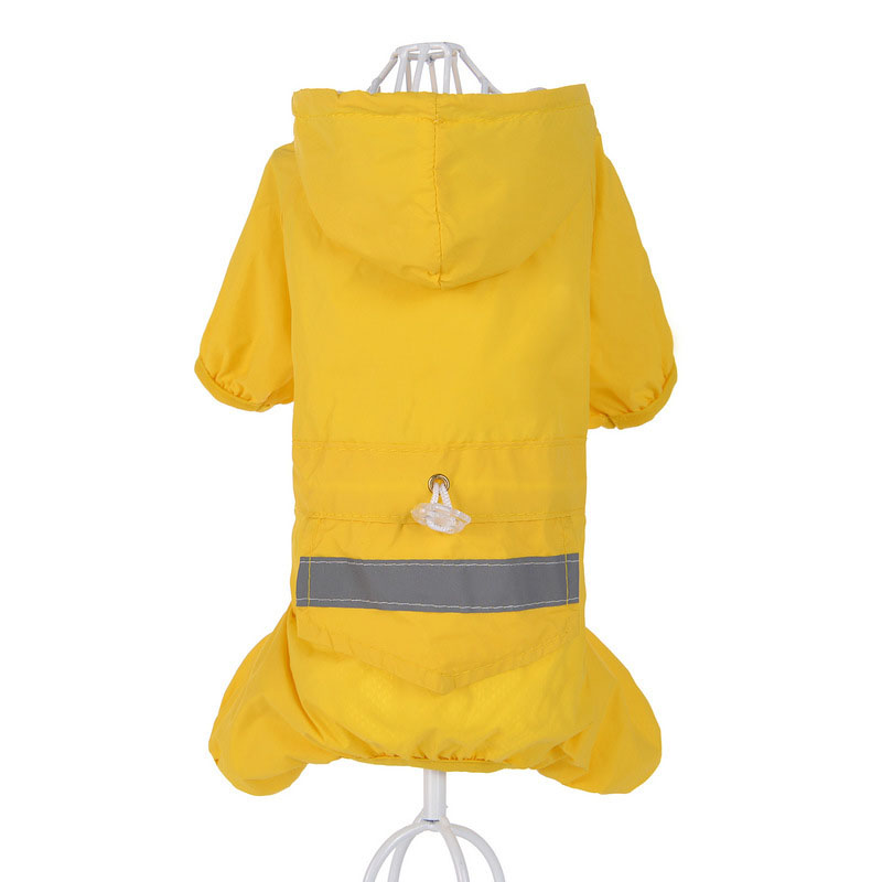 מעיל גשם עם ברדס עמיד במים SYDZSW 3