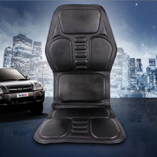 Amkee Car Home Office Body Back Neck Lumbar Electric Massage Chair Relaxation Pad Seat Heat Vibrating
