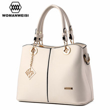 Elegance Women Leather Handbags Dames Tassen Luxury Female Designer Handbag High Quality Brand Women Bags Cross-body Bag 8 Color