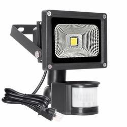 10 Вт Светодиодный прожектор светильник датчик движения водонепроницаемый AC85-265V Светодиодный прожектор с ИК-датчиком светильник отражател...