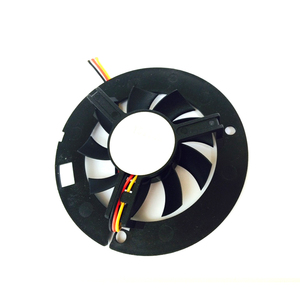 Image 5 - LED 램프 팬 컴퓨터 구성 요소 라디에이터 팬 6015 큰 프레임 60*60*15 라운드 블랙 박스 팬 YL 0044