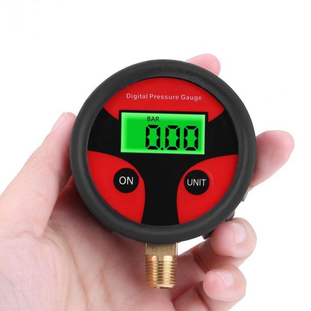 0-200PSI LCD Digital neumático medidor de presión de aire motocicleta coche camión bicicleta sistema de monitoreo