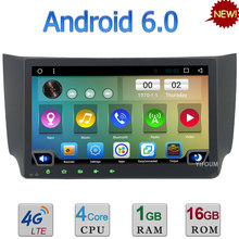 Quad-Core Android 6.0 4G WIFI DAB RDS USB AUX Car DVD Player Stereo Radio For Nissan Sentra Sylphy B17 2012-2016 GPS Navigation