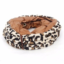 Hot Sale Pet Product Cat Tunnel Leopard Print Crinkly Cat Fun 2 Holes Long Tunnel Kitten Toys Pet Playing Living Necessary