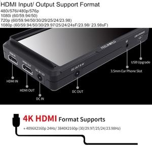 Image 5 - Монитор для камеры FEELWORLD FW568, 5,5 дюйма, IPS, 4K, HDMI, Full HD, 1920x1080