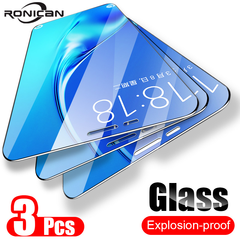 3 Pack Tempered Glass For Samsung <font><b>Galaxy</b></font> A7 A9 <font><b>2018</b></font> <font><b>A5</b></font> J6 A6 A8 J4 Plus <font><b>Screen</b></font> Protector 9H 2.5D Glass Film on Samsung J6 <font><b>2018</b></font> image