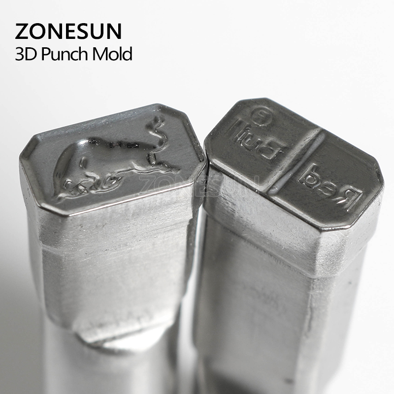 ZONESUN Bull logo customized Candy Sugar Milk Stamp precision punch die mold tablet press tool punch and die TDP 0/1.5/3/5 5 chic chefs horizontal ceramic knife white black 13 3cm blade