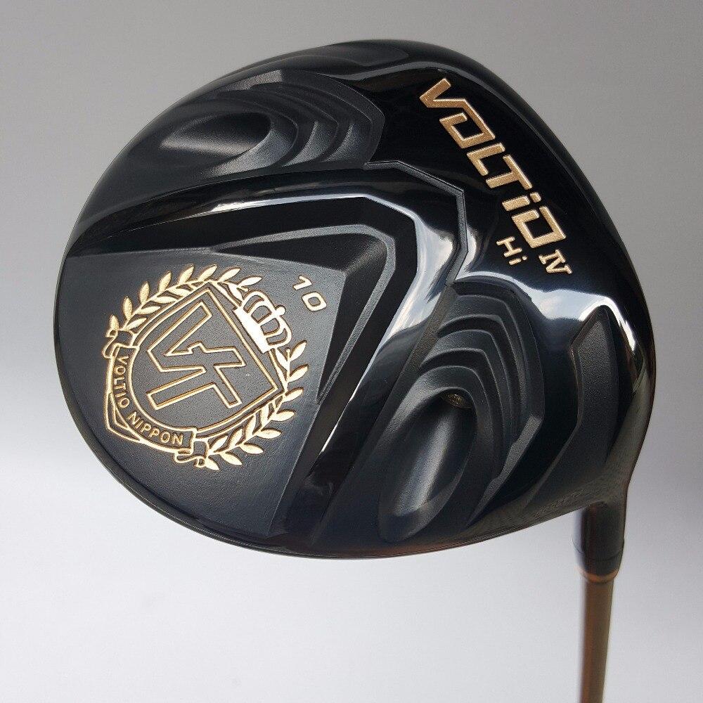 Nuevos mens golf clubs katana voltio hola iv golf conductor 9 o 10 loft Grafito