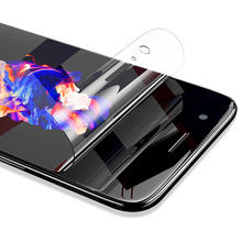 Hydrogel Film For OnePLus 6T 7 Pro Full Cover Soft Screen Protector Film For OnePlus 5 6 T for 6 7 Pro Transparent no Glass