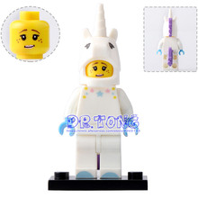 DR TONG Single Sale PG1033 Unicorn Girl Star Wars Action Figures Building Blocks Bricks DIY Toys