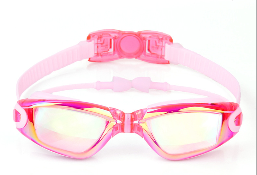 Kids Swimming Anti-Fog UV Protection Prescription Goggles Waterproof Glasses Goggle 12