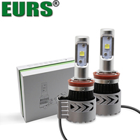 EURS 2pcs Super Bright 12000lm 72W H1 H4 H11 H7 Led Lamp G8 Car Led Headlights